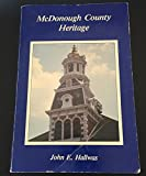 img - for McDonough County heritage book / textbook / text book