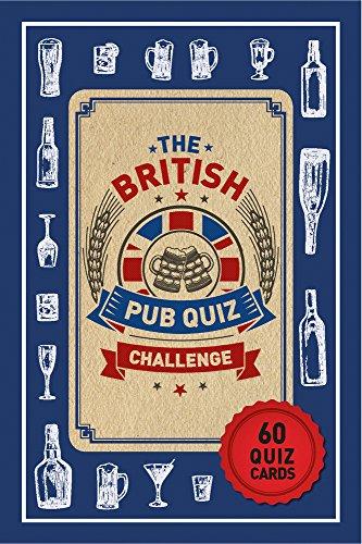 The Biggest British Pub Quiz Cards