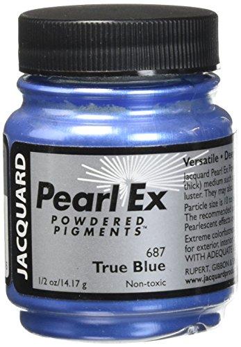 Jacquard JAC-JPX6871 Pearl Ex Powdered Pigment, 0.5 oz, True Blue