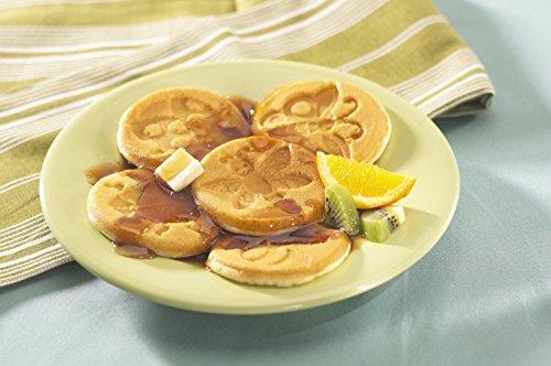 Nordic Ware 01910 Nonstick Silver Dollar Size Garden Bugs Pancake (Bug Pancake Pan)