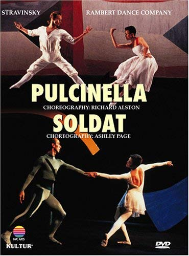 Dance Ringer - Stravinsky - Pulcinella & Soldat / Richard Alston, Ashley Page, Christopher Carney, Amanda Britton, Rambert Dance Company