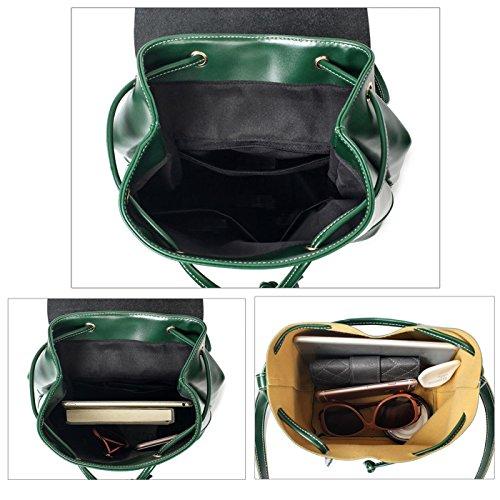 donna monete tracolla donna PU Verde moda pelle a per Borse Tisdaini portafoglio zaino piccolo da in borsa POgnEc