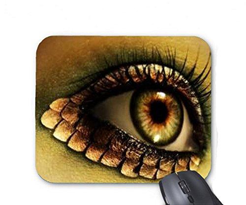 Dragon Eye Halloween Makeup Mouse pad 7x8.66 inch]()