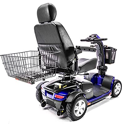 Challenger Mobility Scooter X-Large Rear Basket for Pride, Drive, Golden, Shop rider, Challenger Mobility J1000