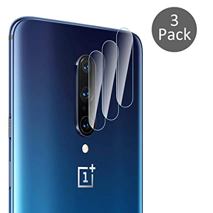 Diruite 3-Pack for Oneplus 7 Pro Camera Lens Protector, [Flexible Glass] [Optimized Version] [Not Affect Flash] for Oneplus 7 Pro- Permanent Warranty ...