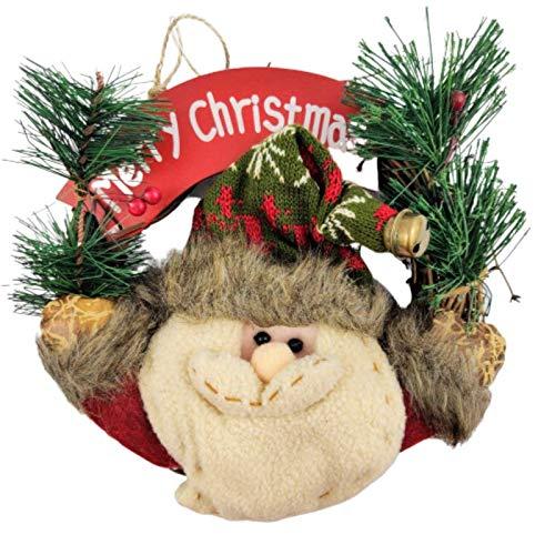 Guirlanda de Natal Decorada Mini 22x7cm Merry Christmas Noel