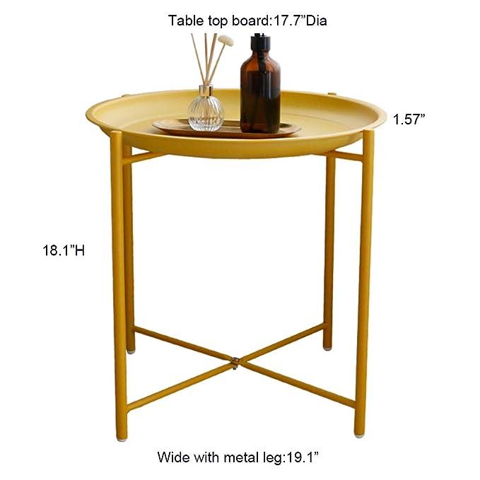 Amazon.com: 2LL4HM - Mesa de centro moderna de fácil montaje ...