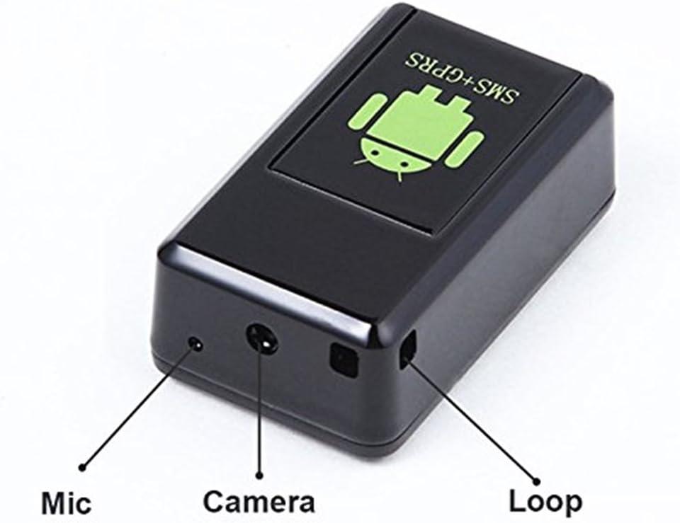 GuDoQi/®Mms Photo Video Voice Recorder Ear Bug Hidden Camera Gsm Sim Gprs Tracker Positioning For Kids//Pets//Elder//Cars Anti Lost Alarm