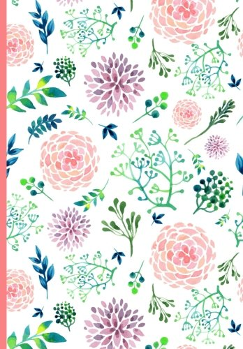 Book 2018 Calendar Schedule Organizer, Weekly Monthly Planner: Watercolor Floral Covering, 2018 Planner w D.O.C