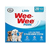 Four Paws Products Wee-Wee Housebreaking Pads for Little Dogs - 28 Pack