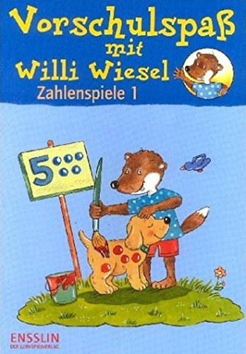 Vorschulspaß mit Willi Wiesel, Zahlenspiele (Ensslin im Arena Verlag)