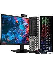 "$299 » Dell Optiplex 990 Desktop Computer PC, 3.20 GHz Intel i5 Quad Core Gen 2, 8GB DDR3 RAM, 2TB HDD Hard Drive, Windows 10 Home 64 Bit, 24"" LCD Monitor, RGB Keyboard and Mouse, (Renewed)"