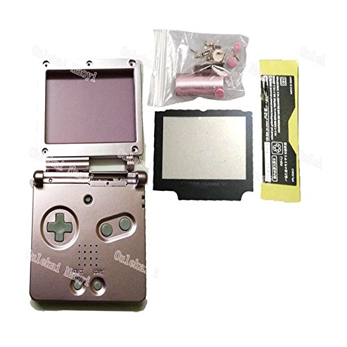 (Hot Multi-Color For Advance SP Housing For Nintendo GBA SP For Gameboy Housing Case Cover Replacement Full Shell (PINK) )