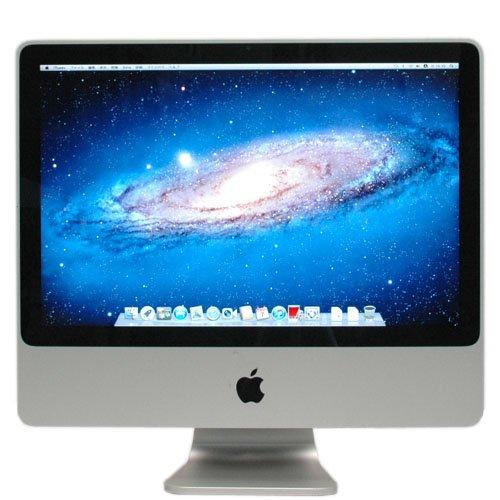 iMac 20インチ MacOS X(Lion) A1224 【 MacOS10.7.4 20インチ(1680 1050) 一体型 Core2Duo-2.4GHz 4096MB 750GB スーパードライブ±R RW(DL) 】の商品画像