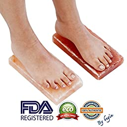 New Himalayan Salt Block Detox for Foot (Set of Two) (Size 8\