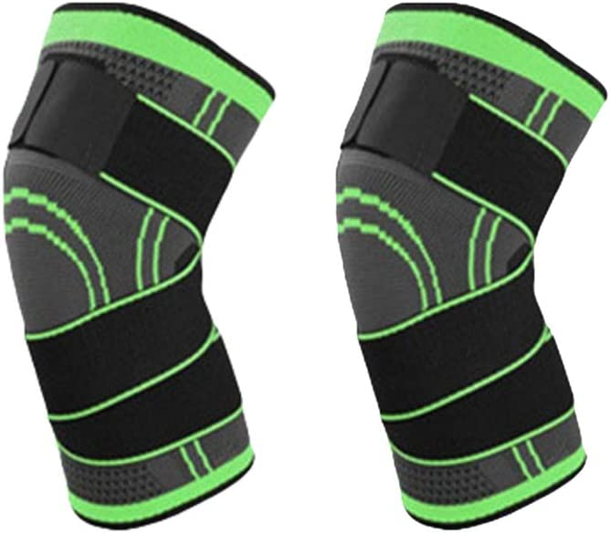 Xingkee Knieschoner verstellbare Stoffriemen robust Kniesch/ützer Knieschutz Kniepolster