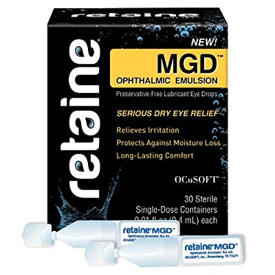 Ocusoft Retaine MGD Ophthalmic Emulsion, Milky White Solution