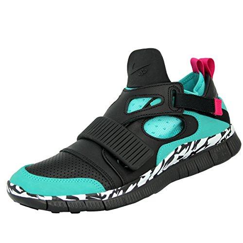 Nike FREE HUARACHE CARNIVORE SP Scarpe Moda Sneakers Nero Verde per Uomo