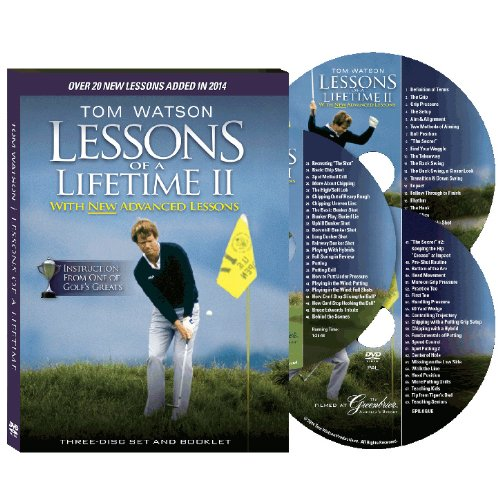 Tom Watson Lessons of a Lifetime Two Discs and Booklet (2010)