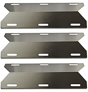 Stainless Steel Heat Plate Tent for Costco Jenn-air, BBQ funland SH1231 3-Pack