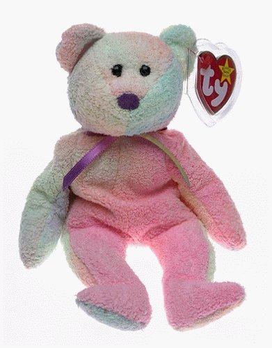 Ty Beanie Babies - Groovy the - Ty Baby Dye Beanie