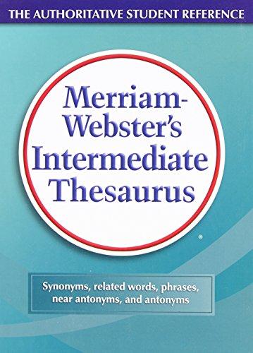 Merriam-Webster's Intermediate Thesaurus by Merriam - Webster Inc.