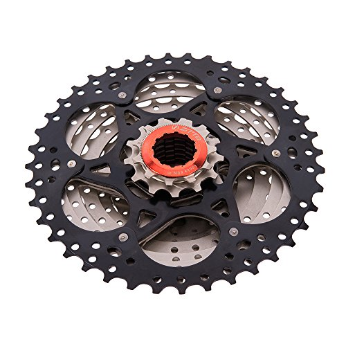 Ztto 9 Speed Cassette 11-40 T for Shimano Hub Mountain Bike MTB Bicycle by Ztto (Image #2)