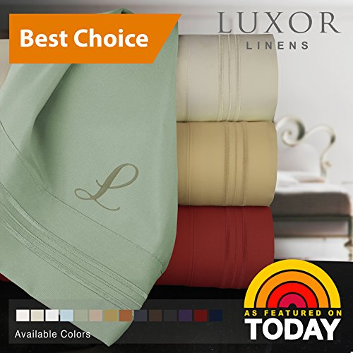 Bed Linens Bella (Luxor Linens Bella Bamboo 6-Piece Sheet Set - Queen - Ivory)