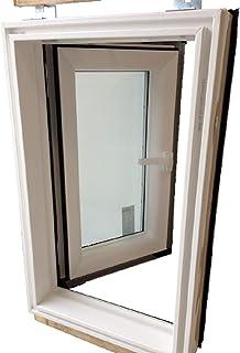 AFG Dachausstieg PVC Skylight Premium Warmdach 55 x 98 mit Eindeckrahmen Dachausstiegsfenster