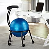 Hammacher Schlemmer The Backrest Core Strengthening Chair