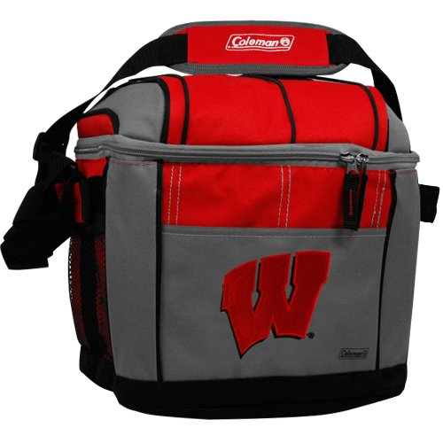 NCAA Wisconsin Badgers 24 Can Soft Sided Cooler