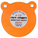 """AR-MOR Targets 1/2"""" Thick Round AR-500 Gong"""