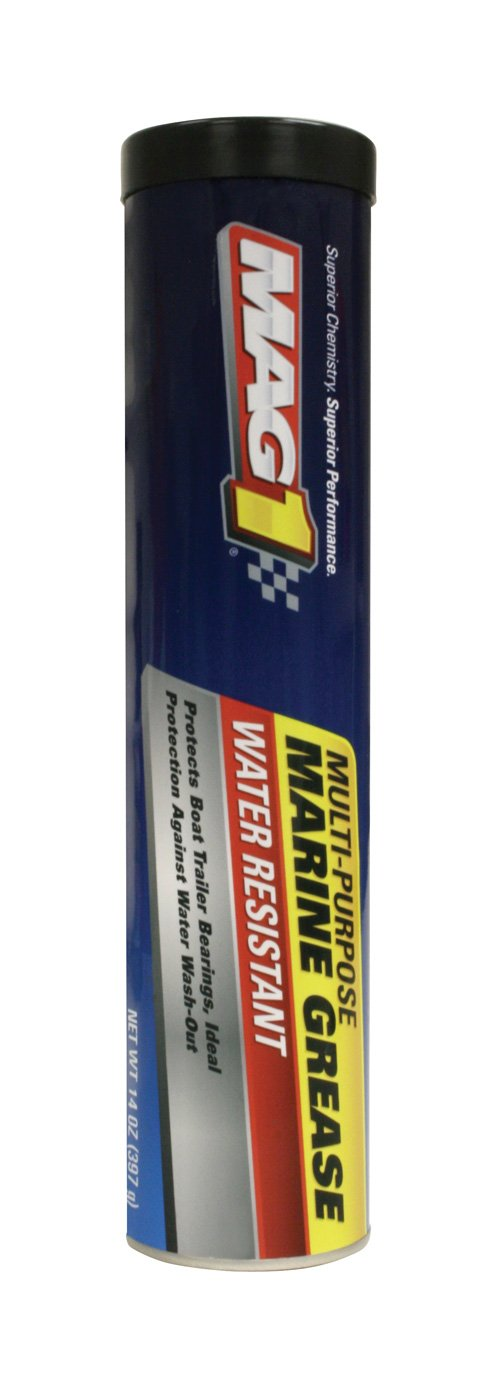 Mag 1 60130 Blue Marine Grease - 14 oz, (Pack of 10) 60130-10PK