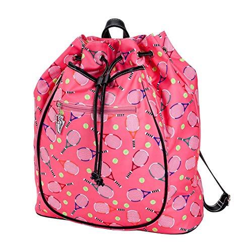 Sydney Love Sport Serve It Up Tennis Racquet Backpack, Pink