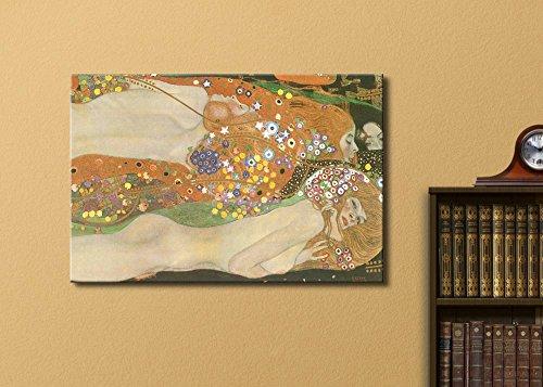 Water Serpents Ii Water Snakes by Gustav Klimt Austrian Symbolist Painter Golden Phase