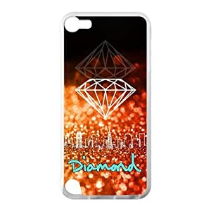 Canting_Good Diamond Custom Case Shell Cover for IPod Touch 5 TPU (Laser Technology)