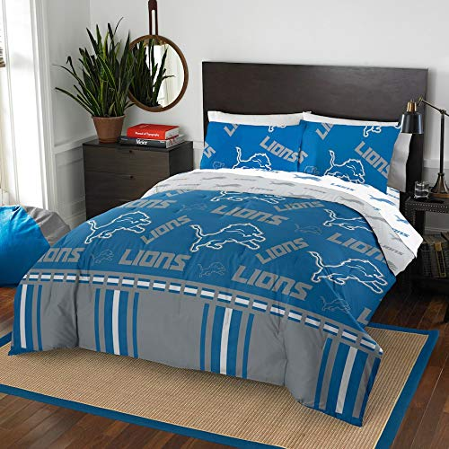 The Northwest Company NFL Detroit Lions Full Bed in a Bag Complete Bedding Set #801288244