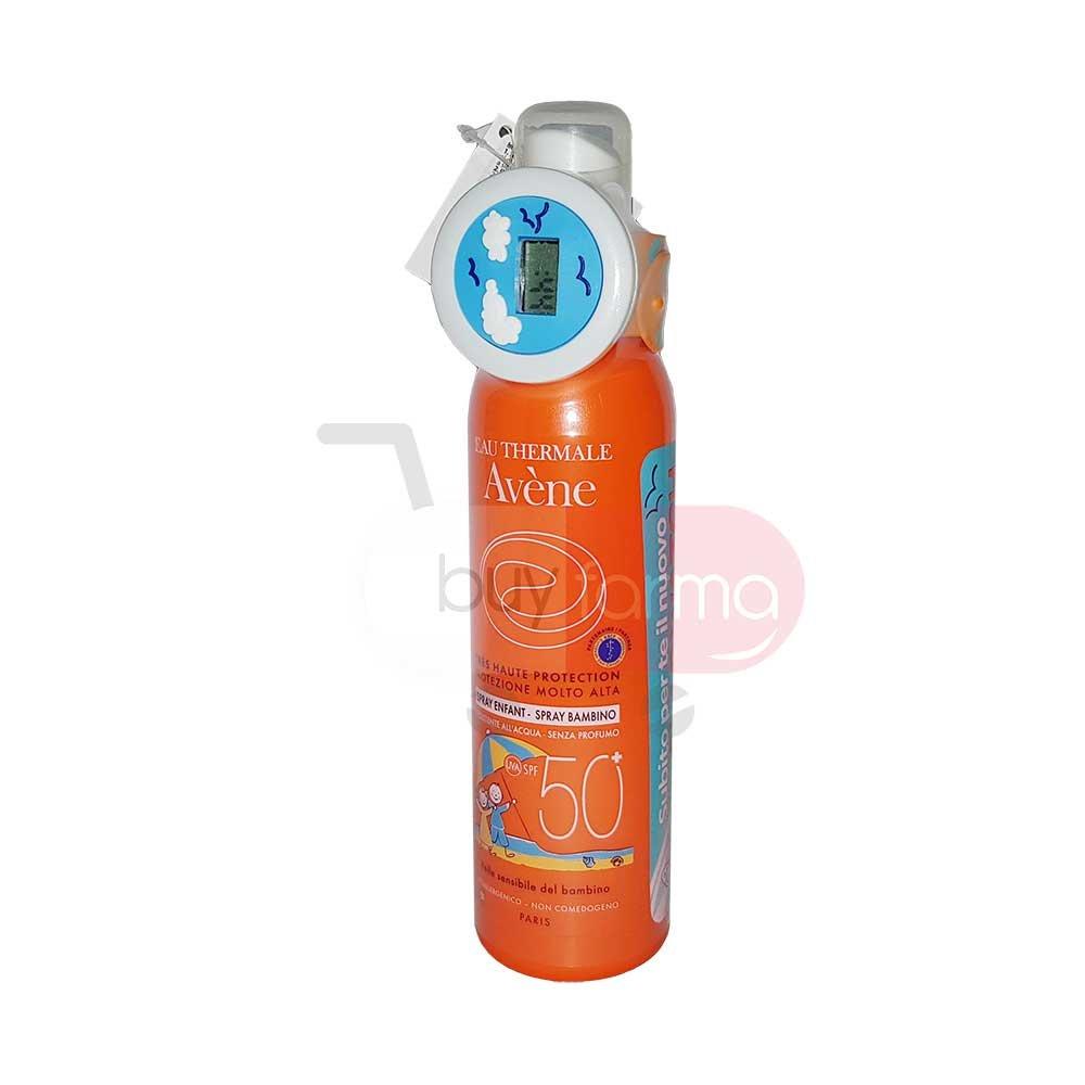 Avène Solari - Spray Bambino SPF 50+ da 200ml + Orologio Digitale in Omaggio Pierre Fabre