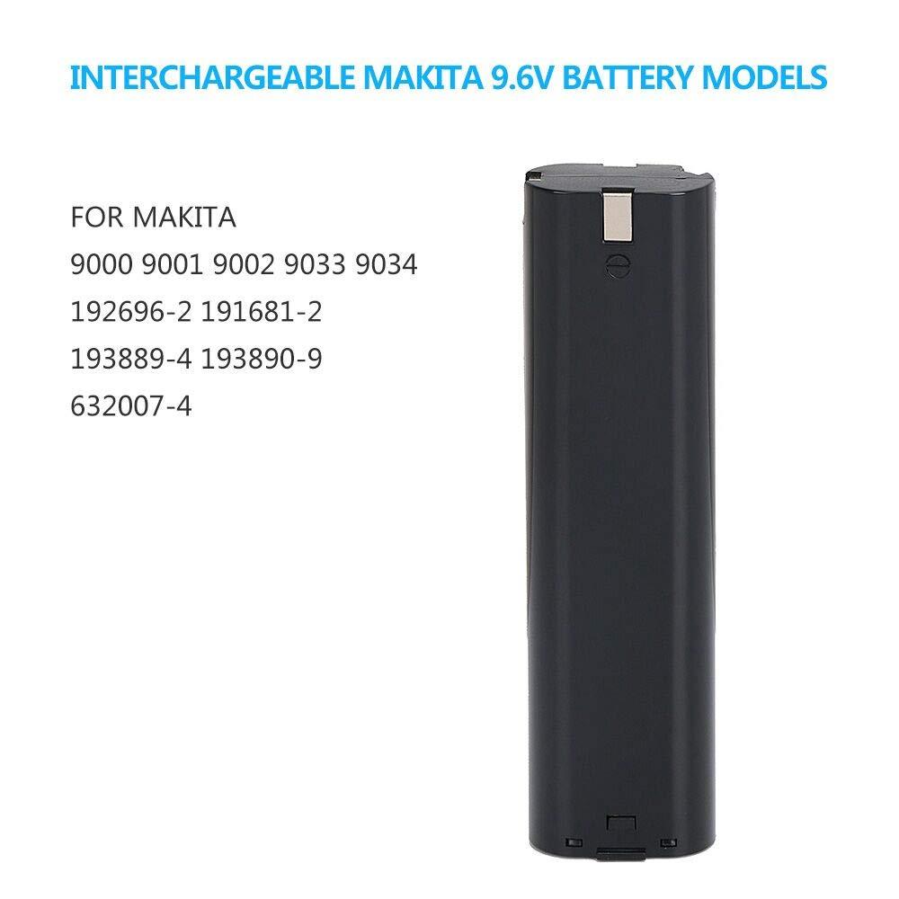 Set Angebot Ni-MH AKKU 9,6V 3000mAh LADEGERÄT für Makita 6012HD 6092D 6093DW