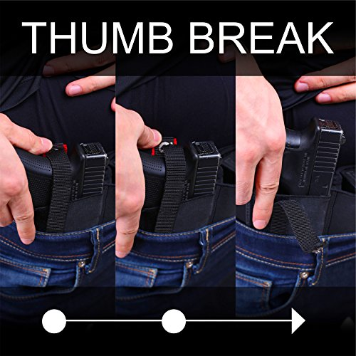 XL Advanced Breathable Belly Band Holster for Concealed