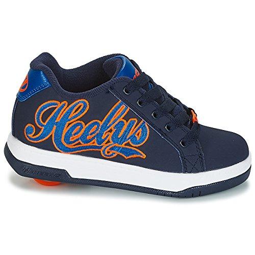 reale 000 bambini da Scarpe ginnastica multicolori Heelys miste arancio per scuro blu PvF4cqw