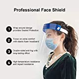 Safety mask, Adjustable Elastic Belt, Transparent