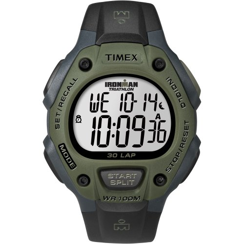 Timex IRONMAN 30-Lap Watch Mid-Size Green, Watch Central