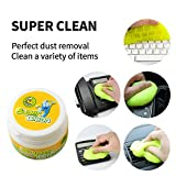 Keyboard Magic Gel Cleaner, Clean Dust Germ Putty for Desk Computer Laptop Phone Car Cleaner Glue Gum