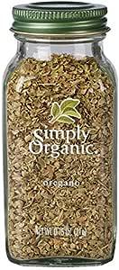 Simply Organic Oregano Large Glass, 21g