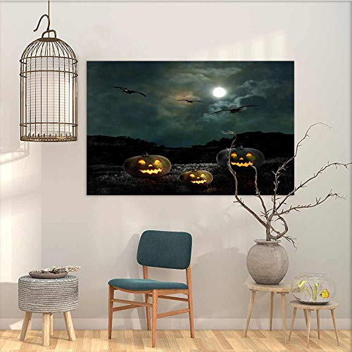 Oncegod Abstract Oil Paintings Sticker Halloween Yard of