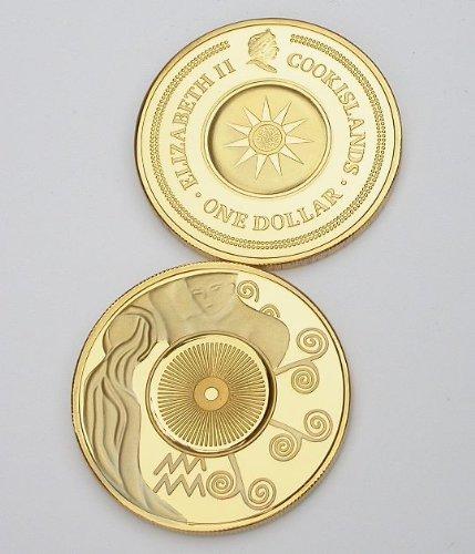 Horoscope Coin - Horoscope Zodiac Coin Aquarius