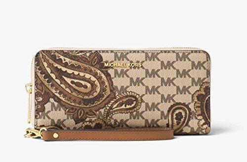 MICHAEL Michael Kors KORS STUDIO Paisley Jet Set Travel Continental Wallet Luggage