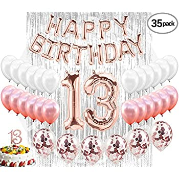 13th Birthday Decorations 13 Party Supplies