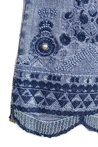 Denim 19swdd34 Argos Chiaro Jeans Desigual Donna EIxOqRnwq0